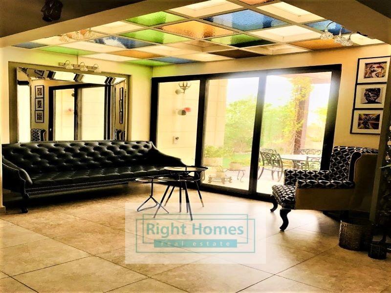 Single Row 4BR Villa |Opp Central Park | Salam
